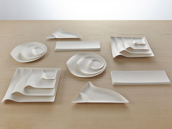 ONLINE SHOP & WASARA is elegant yet sustainable compostable tableware | W A S A R A